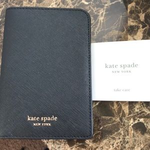 Kate spade passport holder new with tags black